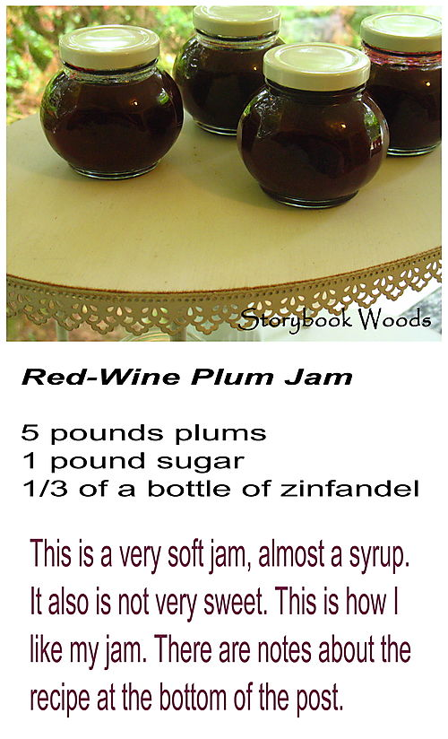 Red wine plum jam 3