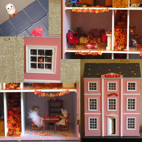 Autumn dollhouse