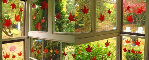 Leaf window