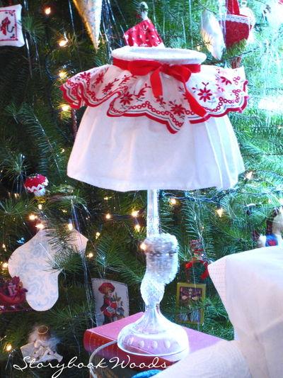 Christmas lamp back
