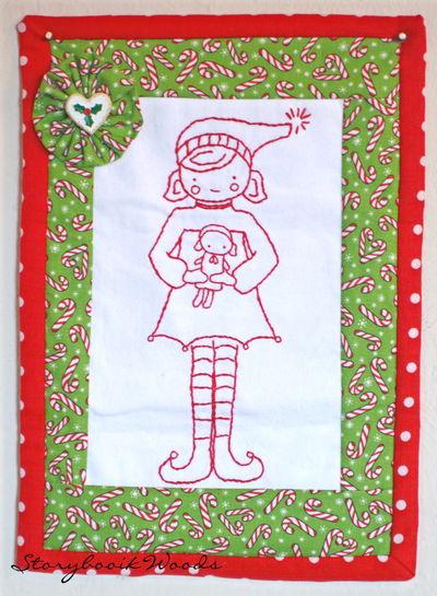 Paula christmas quilt