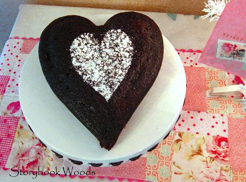 Heart cakee