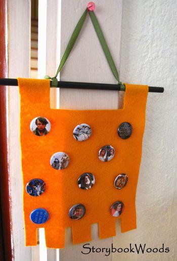 Pin banner