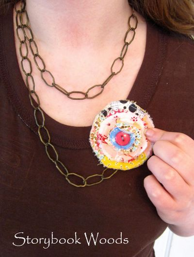 Flower necklace 6