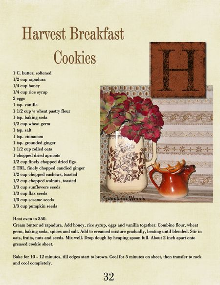 Harvest breakfast