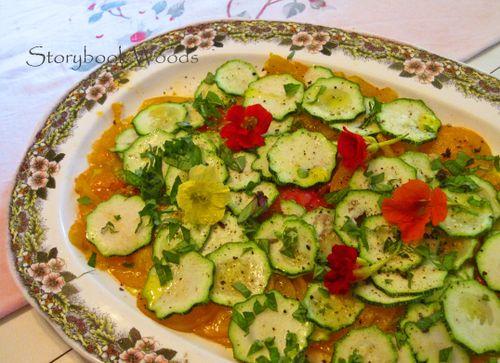 Mandoline saladd