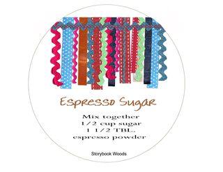 Esprsso sugar