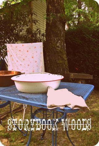 Outdoor washing