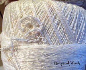 Thread snowman 6