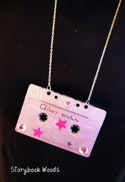 Cassette necklace