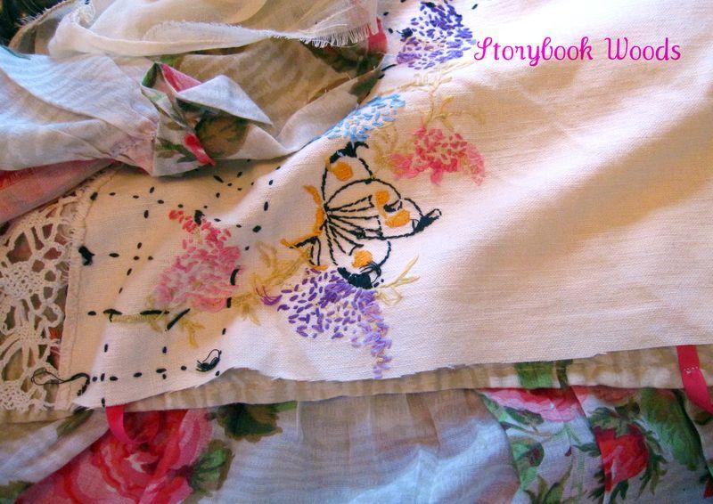 Spring apron 808