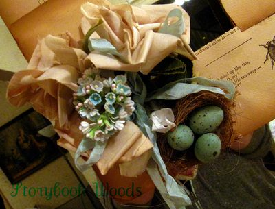Book wreath 404