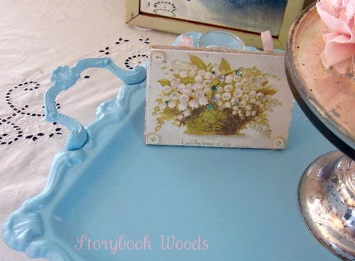 Painted tray 202