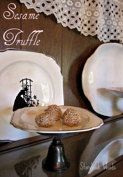 Sesame truffle 2