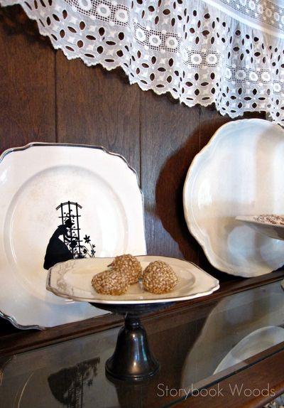 Sesame truffles 1