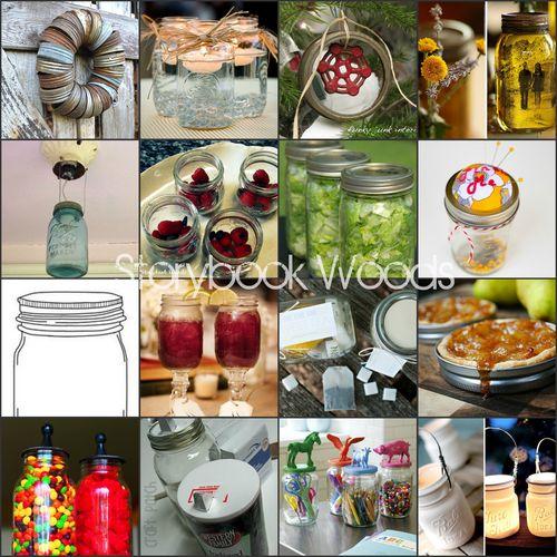 Mason jar 2 collage