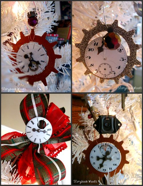 Clockface collage