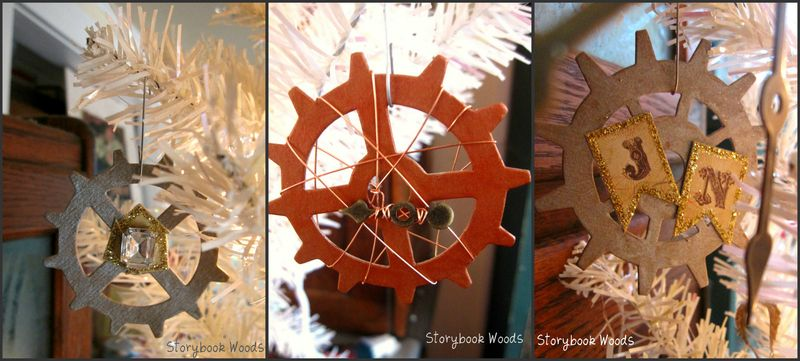 Gears collage