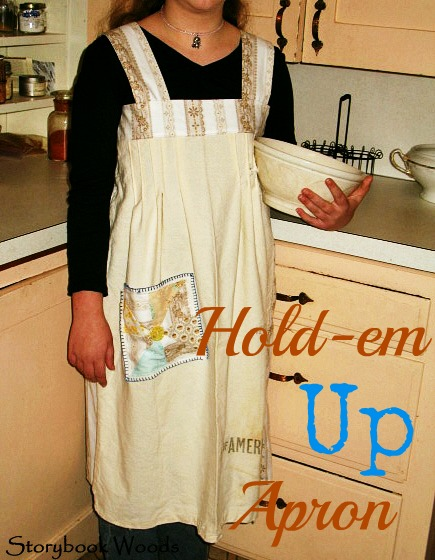 Hold me up apron 101
