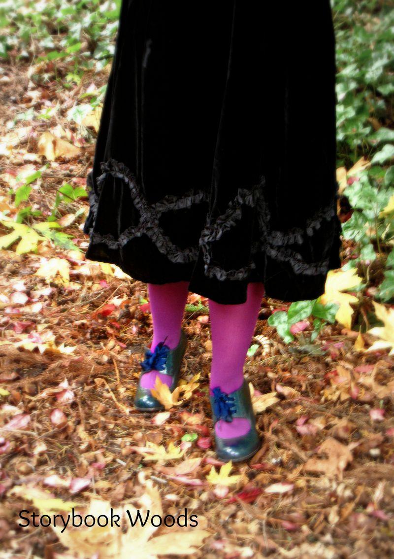 A skirt 5