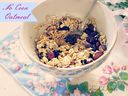 Nocook oatmeal