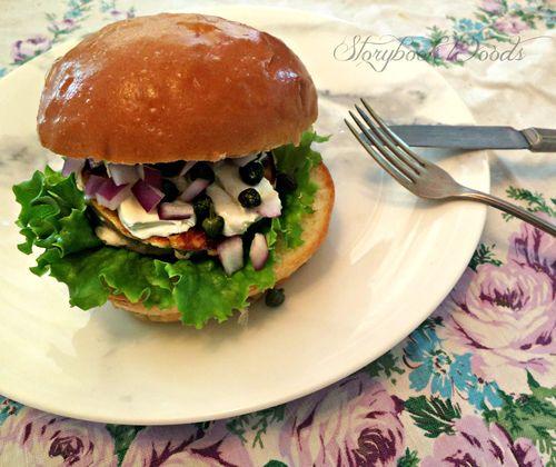 Salmonburger
