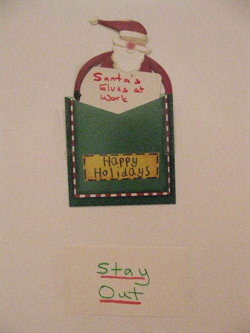 Santa sign 001