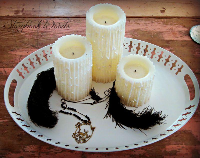 Fether candl