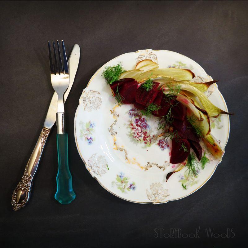 Beet Fennel salad w orange2