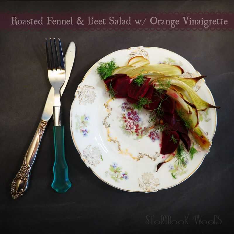 Beet Fennel salad w orange3