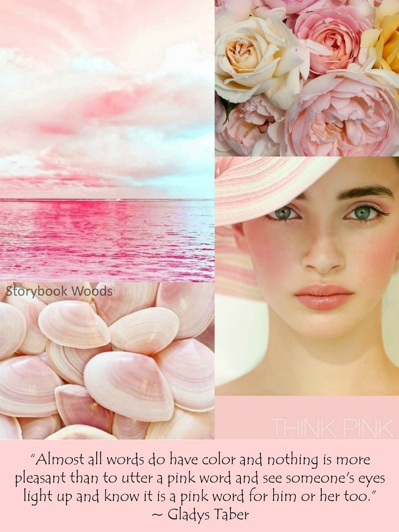 Think pink storybook woods