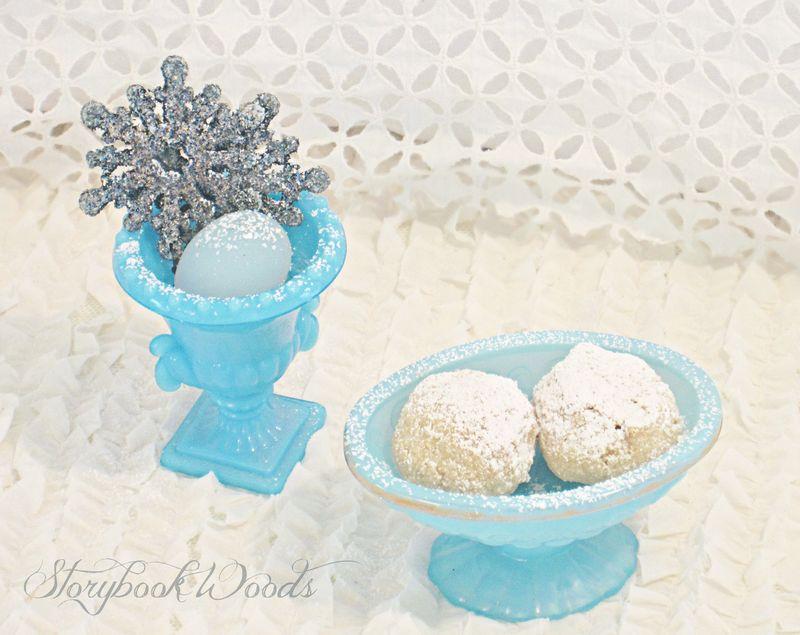 Grain-free snowball cookies 3 storybook woods