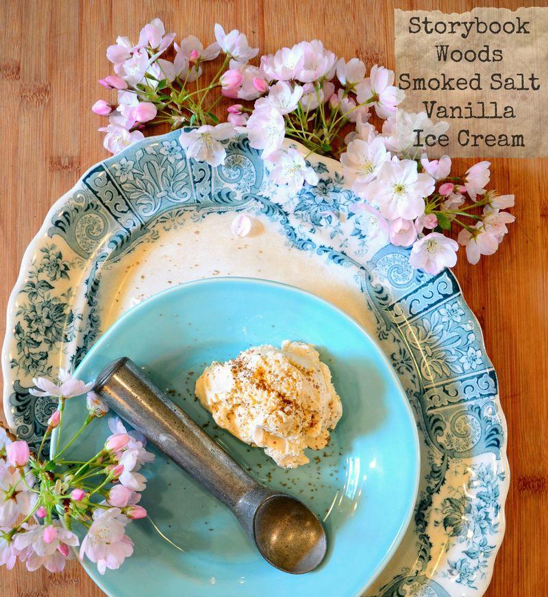Smoked Salt Vanilla Ice Cream 0 Storybook Woods