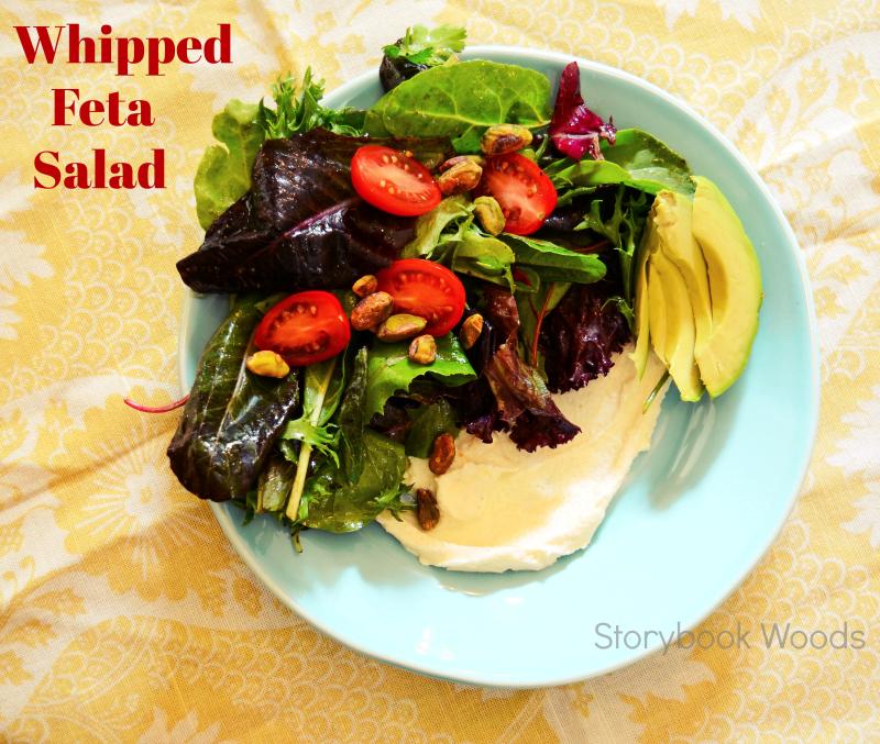 Whipped feta salad 2 Storybook Woods