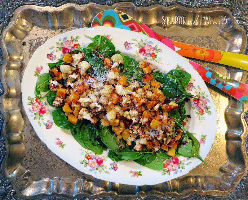 Roasted salad 0