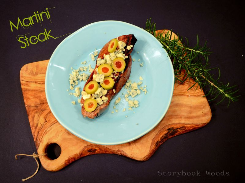 Martini Steak Storybook Woods
