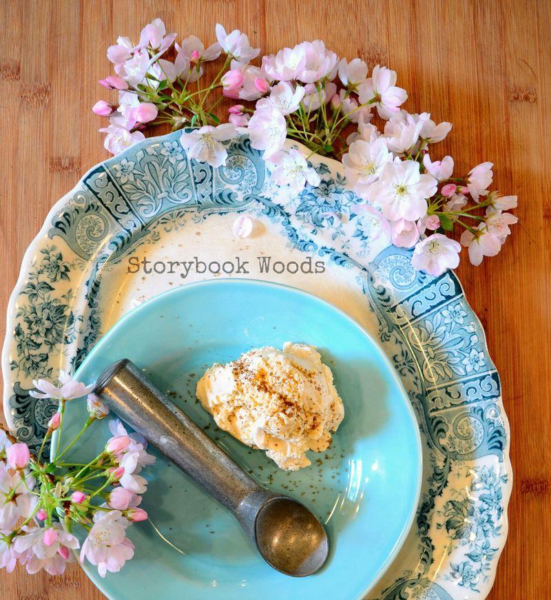 Smoked Salt Vanilla Ice Cream Storybook Woods