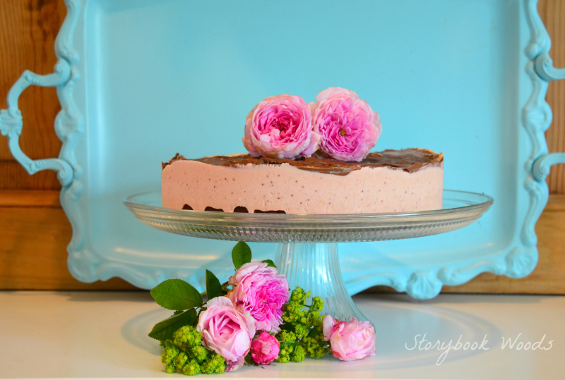 Lavender Strawberry Icecream cake Storybook Woods 1