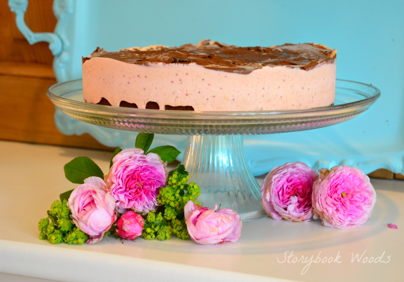 Lavender Strawberry Icecream cake Storybook Woods 5