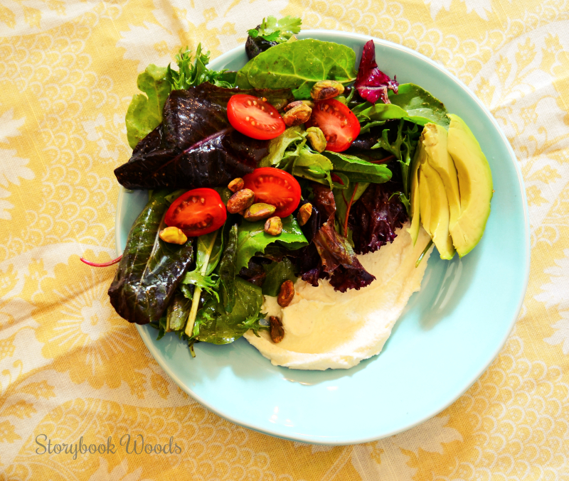 Whipped feta salad 1 Storybook Woods