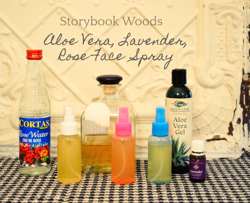 Aloe Vera  Lavender  Rose Face Spray1 Storybook Woods