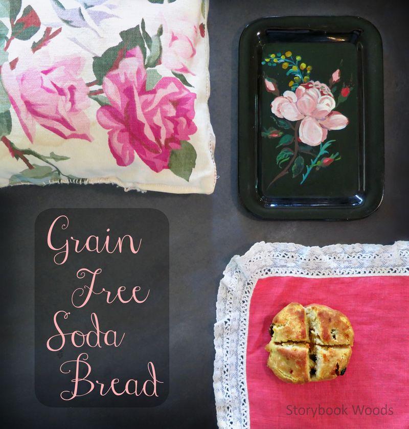 Grain free soda bread storybook woods