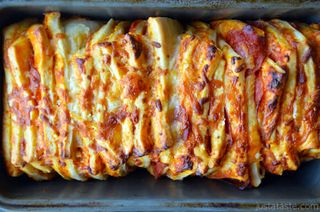 Pizza-Pull-Apart-Bread-in-Pan
