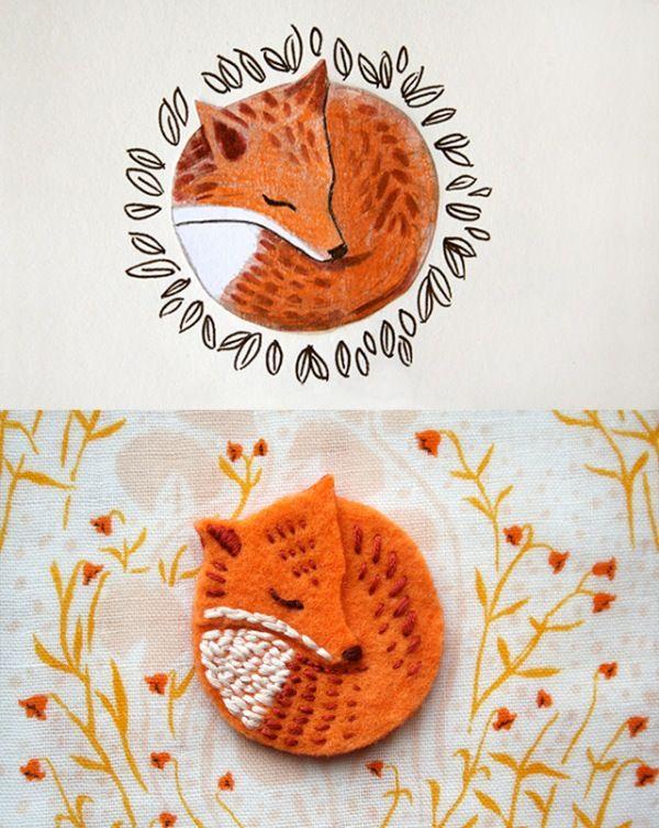 Fox pin