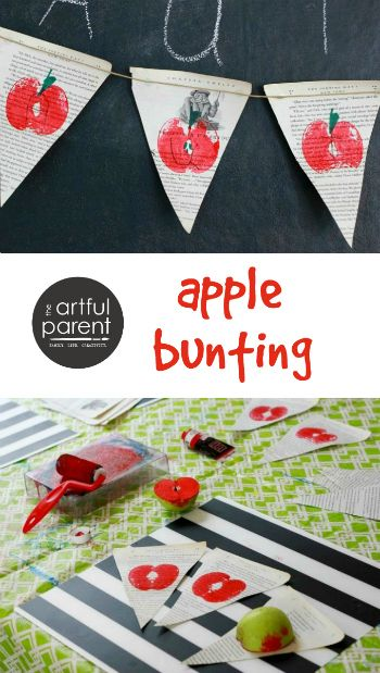 Apple bunting