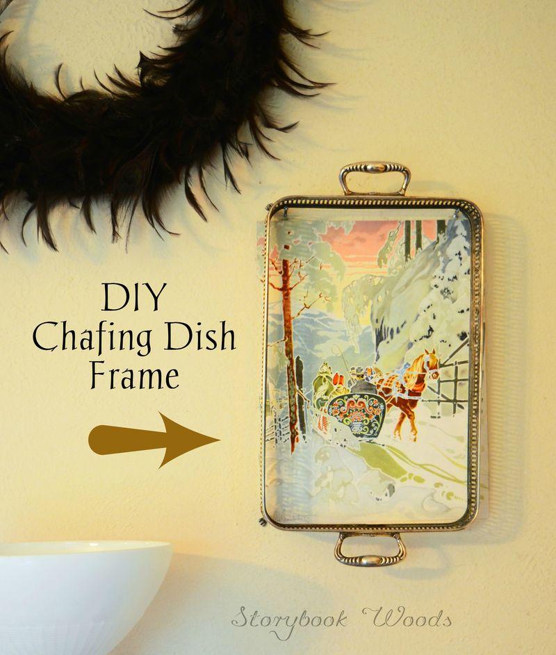 DIY chafing dish frame Storybook Woods