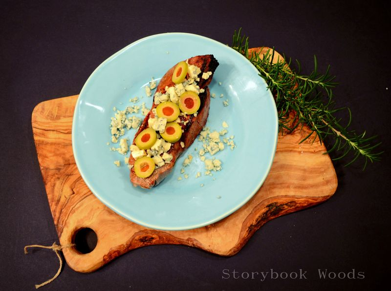 Martini Steak Storybook Woods 0