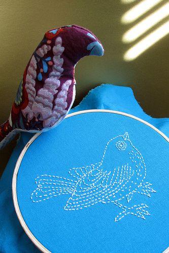Bird embrod