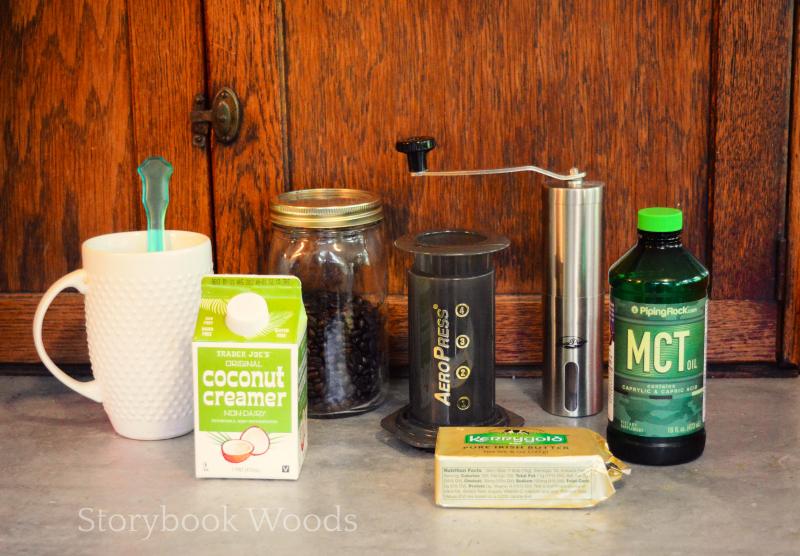 Bulletproof coffee Storybook Woods