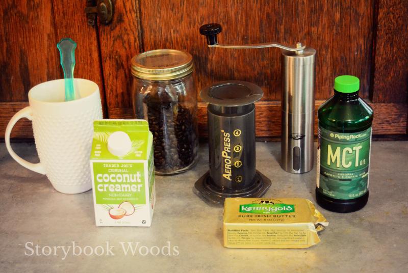 Bulletproof coffee2 Storybook Woods